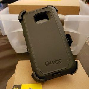 Otterbox Galaxy s7 ACTIVE black phone case